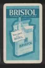 Advertising Playing Cards Bristol cigarettes circa 1950's